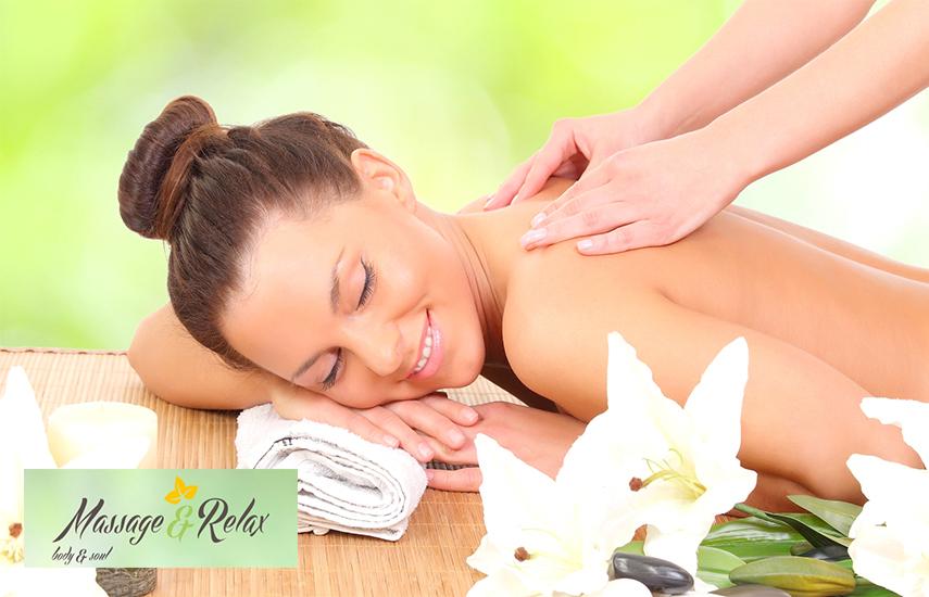 """12€ από 25€ για Full-Body Xαλαρωτικό ή Θεραπευτικό μασάζ με αιθέρια έλαια, διάρκειας 45', στο ολοκαίνουργιο """"Massage & Relax"""" στον Πειραιά"""