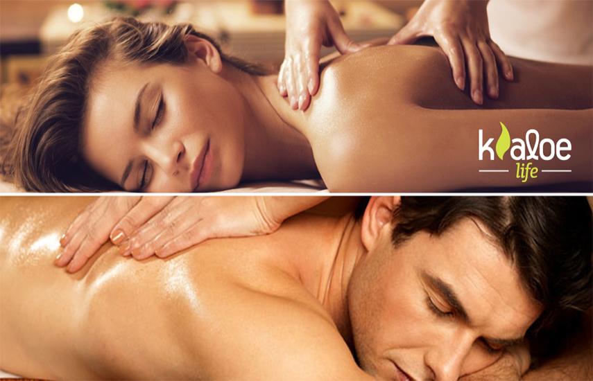 7€ από 25€ για 1 αναζωογονητικό ''Spa Relax Antistress'' Massage Σώματος, διάρκειας 30'', στο ''Kaloe Life'' στο Κολωνάκι