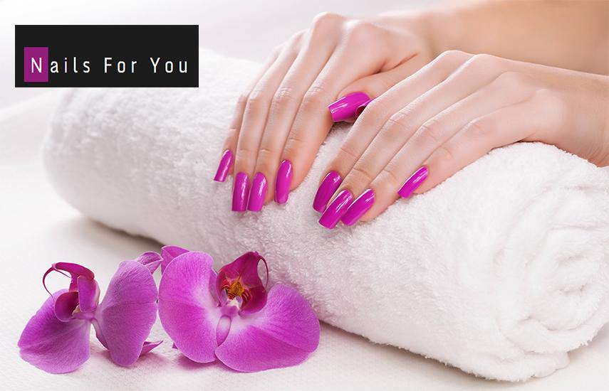 33€ από 80€ για Full Spa Manicure, Ημιμόνιμο Full Spa Pedicure, Σχηματισμό Φρυδιών & Αφαίρεση Μουστακιού στο κέντρο ομορφιάς ''Nails for you'' στην Καλλιθέα εικόνα