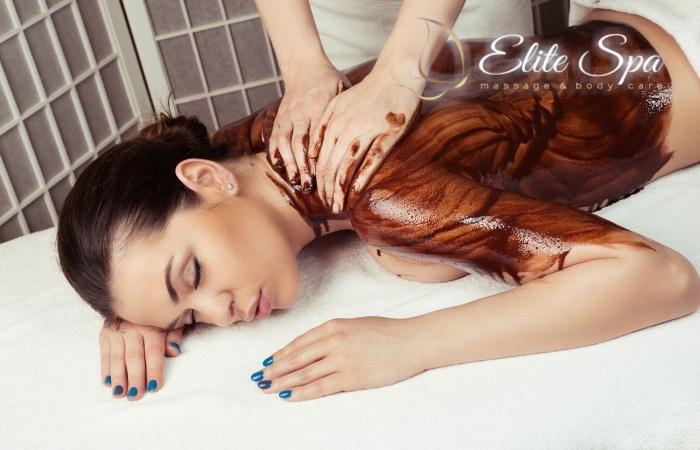 27€ απο 106€ για Full Body Chocolate Relax Massage, διαρκειας 90′ στο πολυτελες »Elite Harmony Spa» στο Κολωνακι
