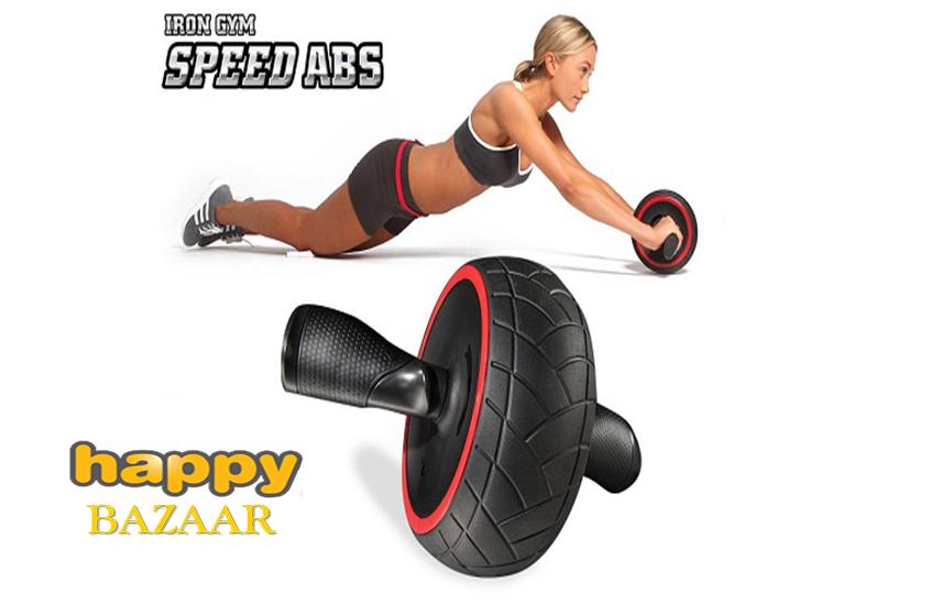 18,9€ από 70,4€ για Ρόδα Εκγύμνασης Κοιλιακών ''Iron Gym'' για γρήγορα και ορατά αποτελέσματα