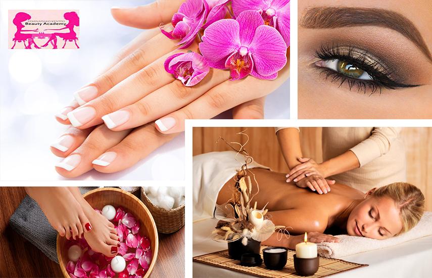 15€ από 60€ για Spa Manicure-Pedicure με Ημιμόνιμη ή απλή Βαφή (απλό ή γαλλικό), Σχηματισμό Φρυδιών & Xαλαρωτικό Μασάζ 30', στο ''Beauty Academy'' στην Καλλιθέα