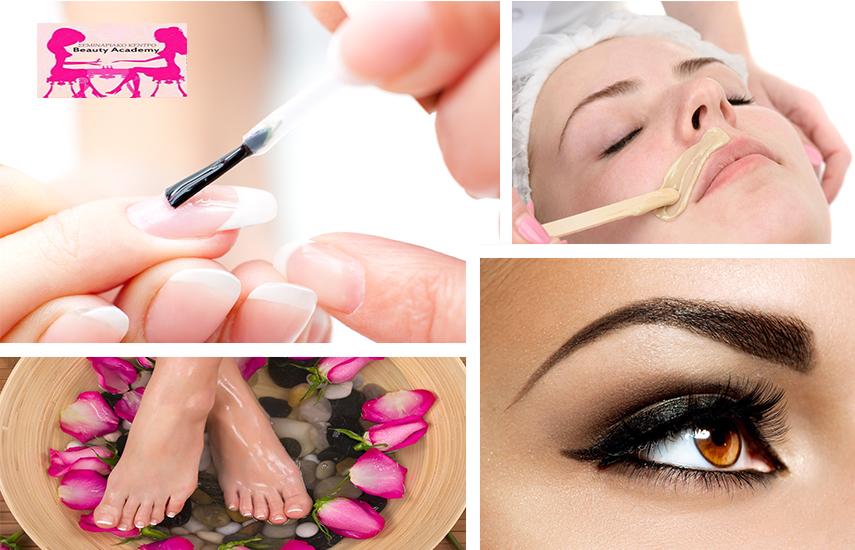 12€ από 57€ για Spa Manicure-Pedicure με Ημιμόνιμη ή απλή Βαφή (απλό ή γαλλικό), Αποτρίχωση Άνω Χείλους με κλωστή & Σχηματισμό Φρυδιών, στο ''Beauty Academy'' στην Καλλιθέα εικόνα