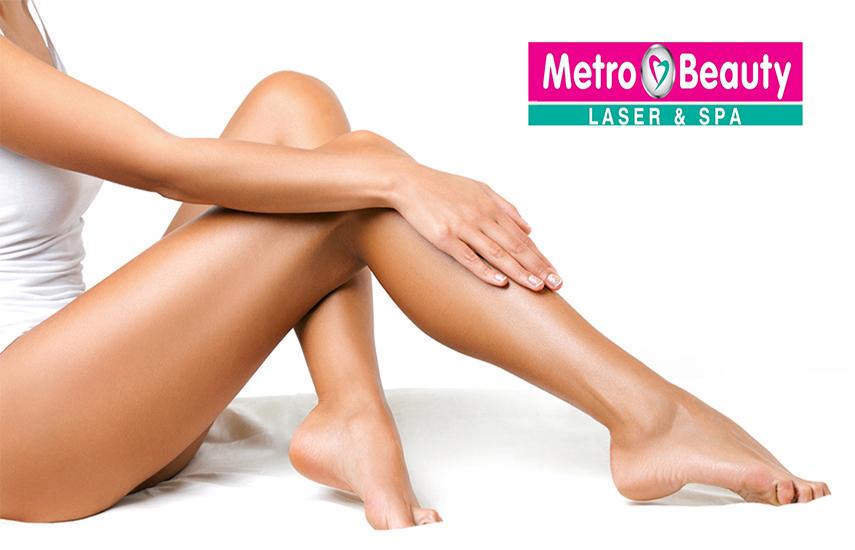 15€ από 400€ για Ετήσιο Πρόγραμμα Οριστικής Αποτρίχωσης με IPL Laser τελευταίας γενιάς, για όλους τους τύπους δέρματος, στο ''Metro Beauty Laser & Spa'' στον Άγιο Δημήτριο
