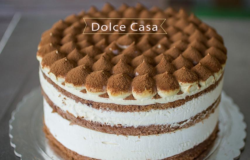 7€ από 15€ για ολόφρεσκη Οικογενειακή Τούρτα, επιλογή από 10 γεύσεις, στο φημισμένο ''Dolce Casa'', το πιο γλυκό σπίτι της Νέας Σμύρνης! εικόνα