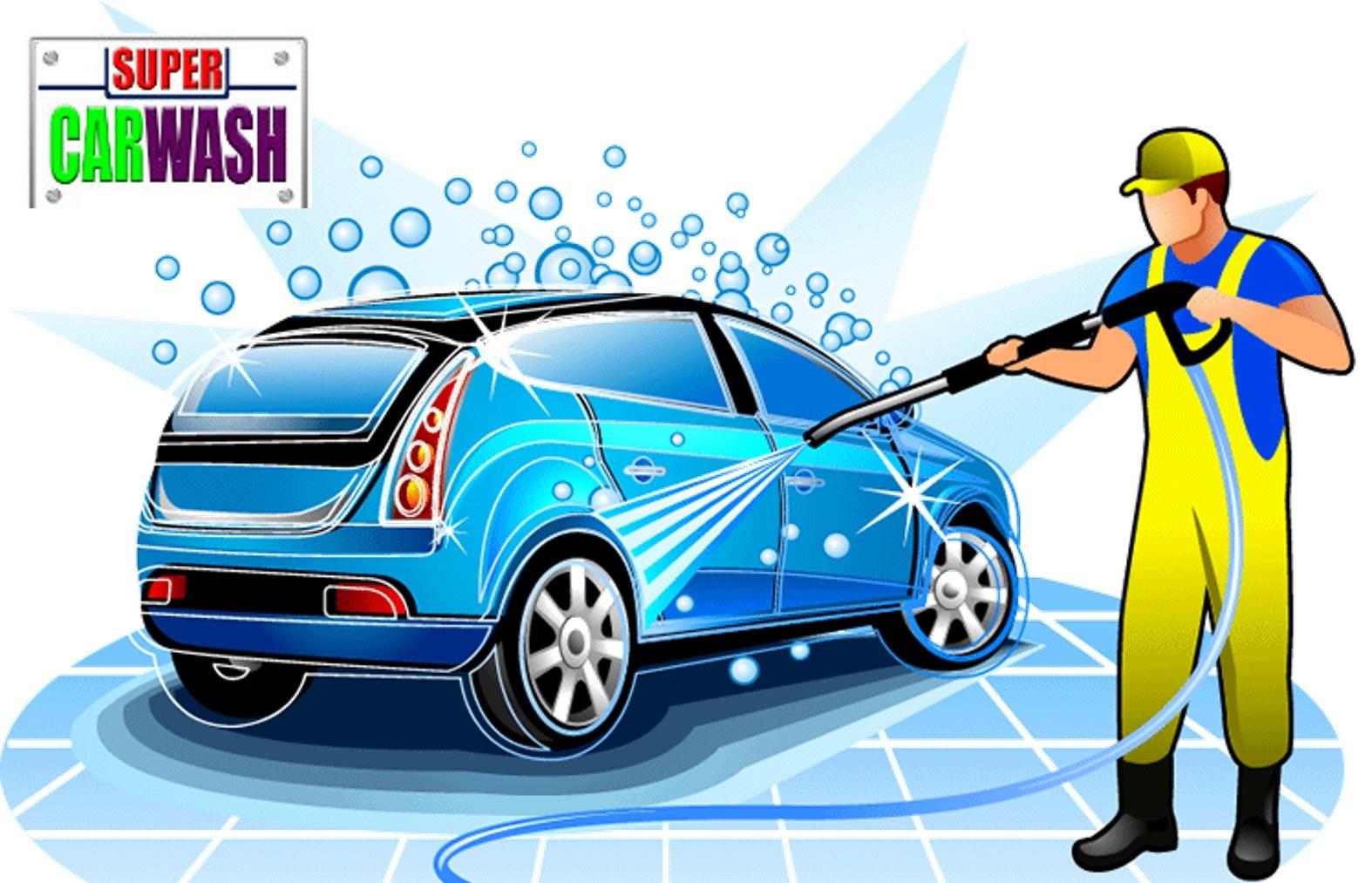 4,50€ από 10€ για πλύσιμο Αυτοκινήτου (μέσα-εξω) & Υγρό Κέρωμα, στο Υψηλής τεχνολογίας πλυντήριο αυτοκινήτων ''Super Car Wash'' στα Βριλήσσια (δίπλα στα Alouette) εικόνα