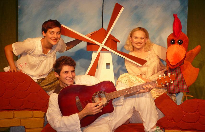 5€ από 8€ για είσοδο στη διαδραστική παιδική παράσταση ''Οι Μουσικοί της Βρέμης''', απ'το Θέατρο Κούκλας της Ιρίνα Μπόικο 'White Puppet', στον ''Χώρο Τέχνης Ασωμάτων'' στο Θησείο (δίπλα στον ΗΣΑΠ). ΜΟΝΟ για λίγες παραστάσεις εικόνα