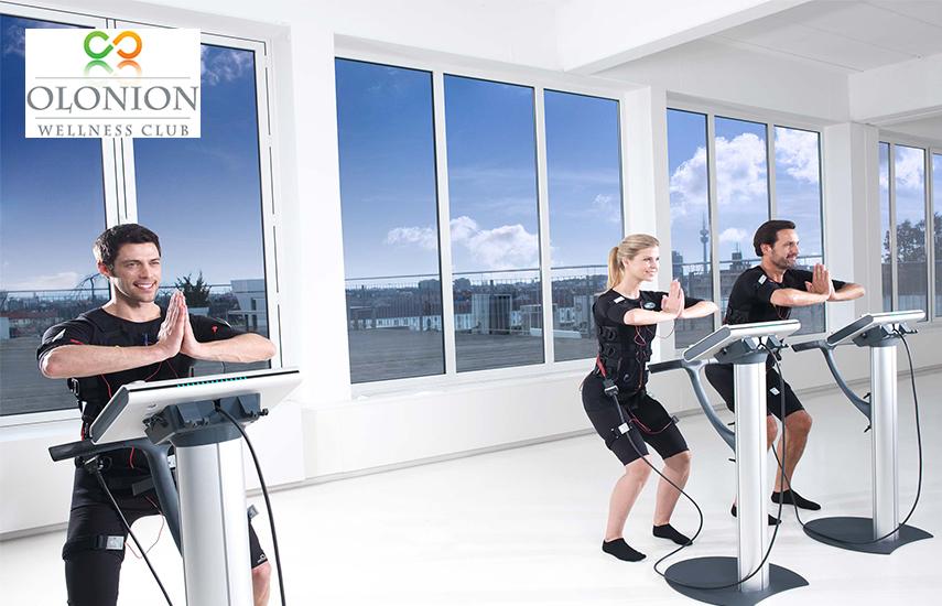 Aπό 14€ για 1-4 Προπονήσεις με Miha Bodytec, το απόλυτο σύστημα εξάσκησης, στο κέντρο εναλλακτικών θεραπειών ''Olonion Wellness Club'', στους Αγ.Αναργύρους εικόνα