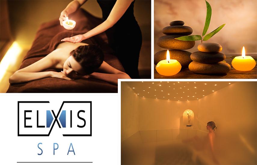25€ από 90€ για Candle Massage 60' με ζεστό κερί & Σάουνα ή Steam Bath 20', στο πολυτελές ''Elxis Spa'' στη Λ.Αλεξάνδρας εικόνα