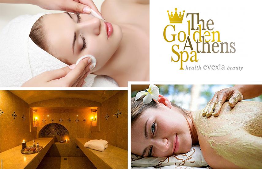 30€ από 200€ για 1 Αντιρυτιδική Θεραπεία Προσώπου με Βλαστοκύτταρα & 1 VIP Golden Relax Therapy Σώματος, Διάρκειας 3 Ωρών, στο υπερπολυτελές 600 τ.μ. ''Golden Athens Spa'' στο Σύνταγμα