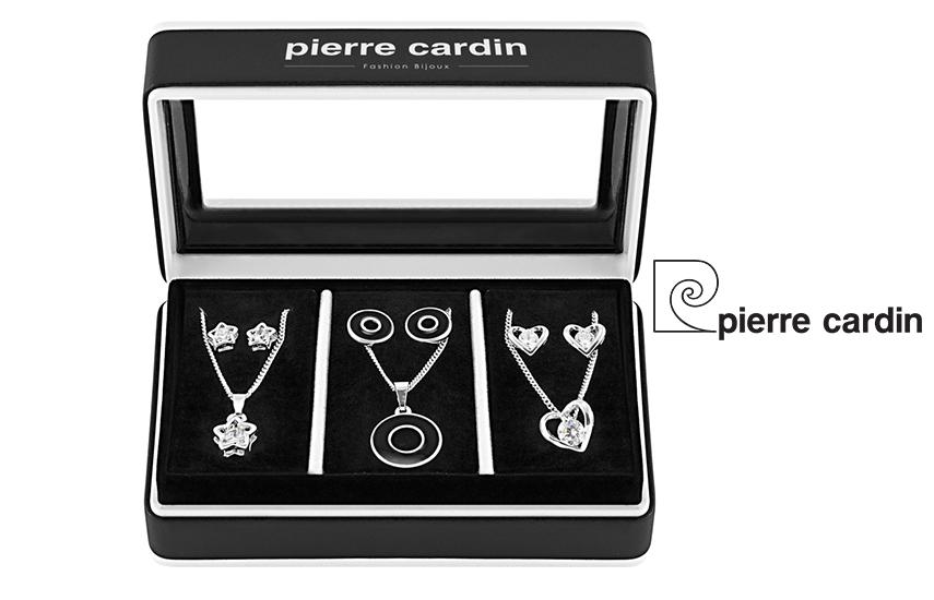 27,9€ από 59,8€ για Σετ με συλλογή Κοσμημάτων ''Pierre Cardin'', από κράμα ασημιού με 3 Κολιέ και 3 Ζευγάρια Σκουλαρίκια, σε Πολυτελή συσκευασία