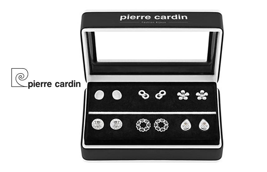 27,9€ από 59,8€ για Σετ με συλλογή Κοσμημάτων ''Pierre Cardin'', από Κράμα Ασημίου & Κράμα Ροδίου, με 6 Ζευγάρια Σκουλαρίκια, σε Πολυτελή συσκευασία