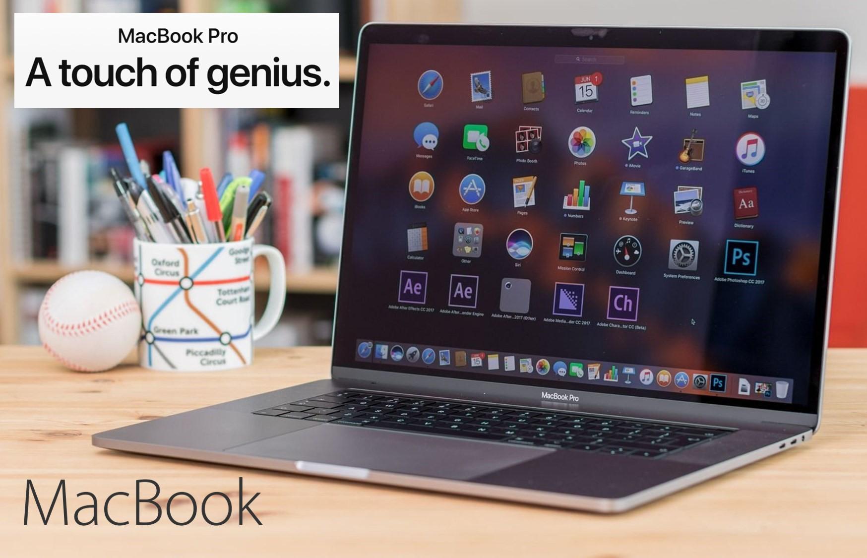 2.799€ από 3.619€ για τo νέο Apple MacBook Pro 15.4'' Silver (i7/16GB/512GB) with Touch Bar (2017), στην καλύτερη τιμή της αγοράς και με 2 Χρόνια Εγγύηση