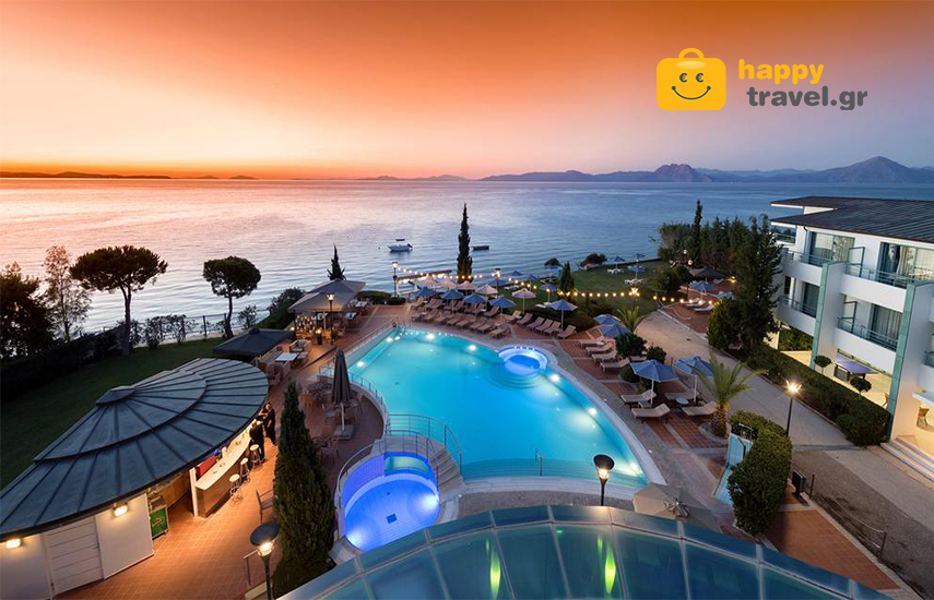 Γιορτές στα Καμίνια Πατρών: Από 218€ για 3-5ήμερη SMART ALL INCLUSIVE απόδραση 2 ατόμων, με πλούσιες παροχές & Παιδική Απασχόληση, στο 4* ''Poseidon Palace''