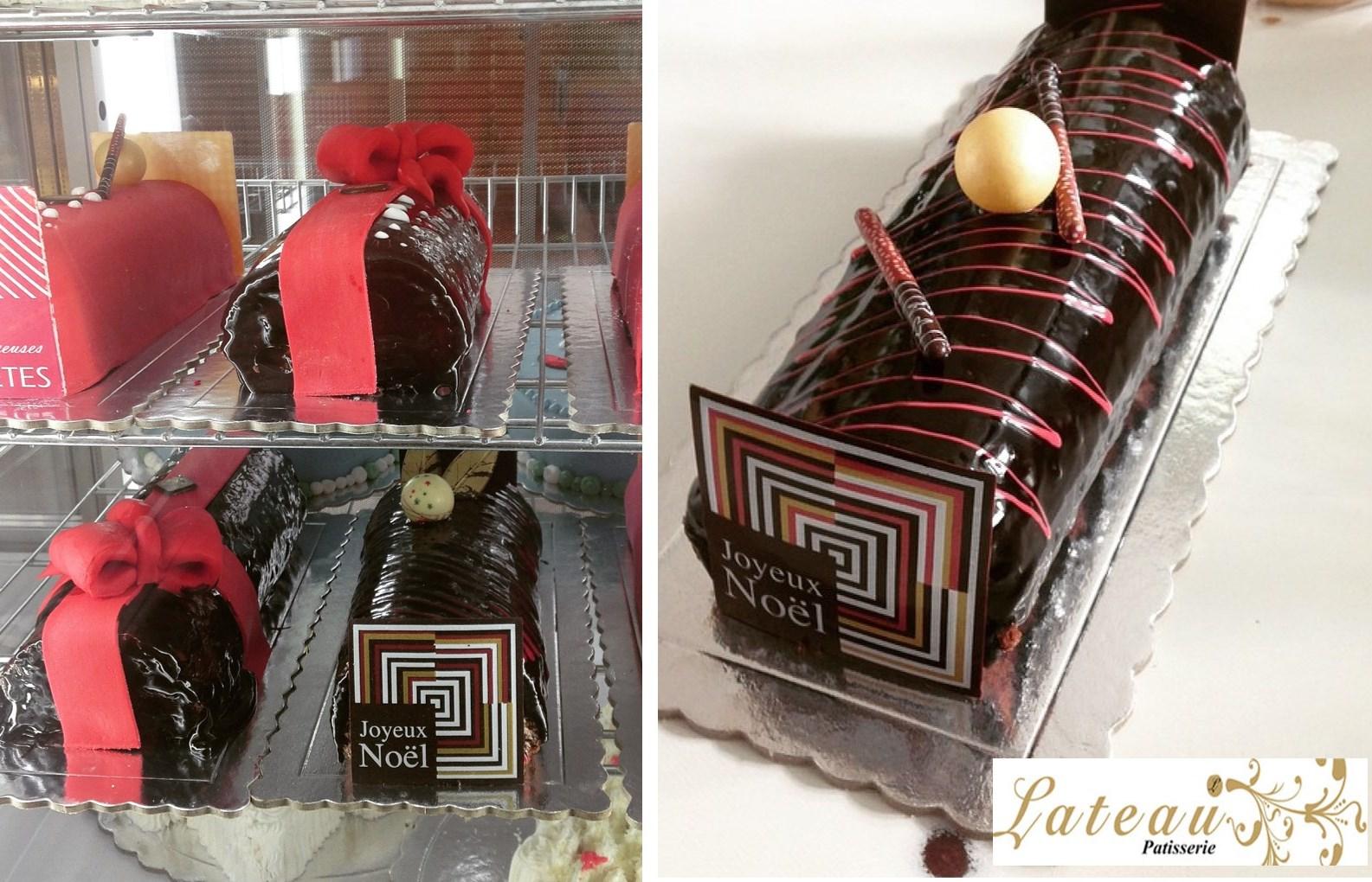 9€ από 22€ για ολόφρεσκo Σοκολατένιο Κορμό Χριστουγέννων 1,3kg, στο ζαχαροπλαστείο ''Lateau Patisserie'', στην Πανόρμου, δίπλα στο μετρό. Ένα Υπέροχο σοκολατένιο γλυκό, ιδανικό για το γιορτινό τραπέζι! εικόνα