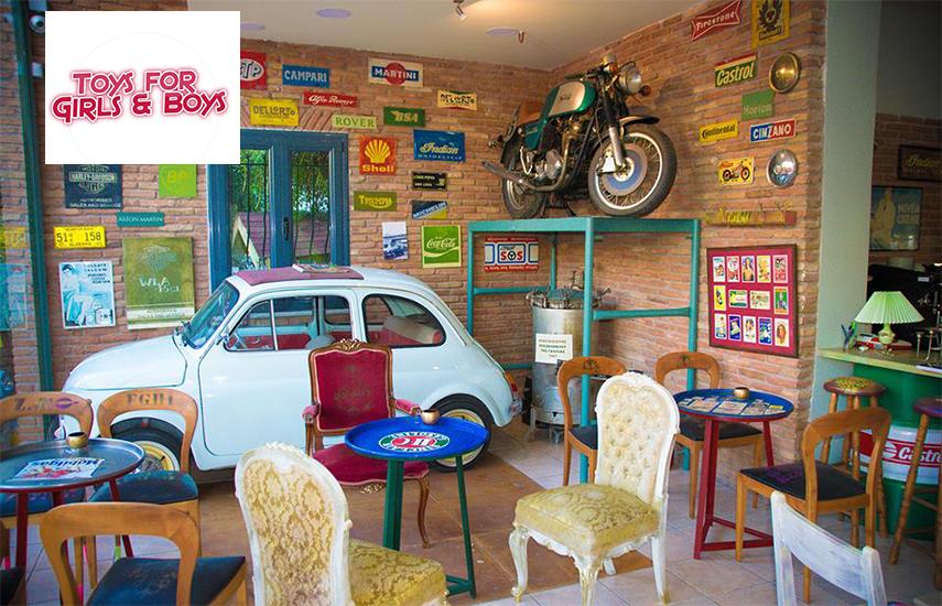 4€ από 6€ για Είσοδο 1 Παιδιού & του Συνοδού του, με Χυμό, στον δημιουργικό παιδότοπο ''Toys for Girls & Boys'' στο Χαλάνδρι! Ένας πρωτότυπος - μοναδικός χώρος, που προσφέρει απολαυστικές στιγμές σε μικρούς και μεγάλους εικόνα