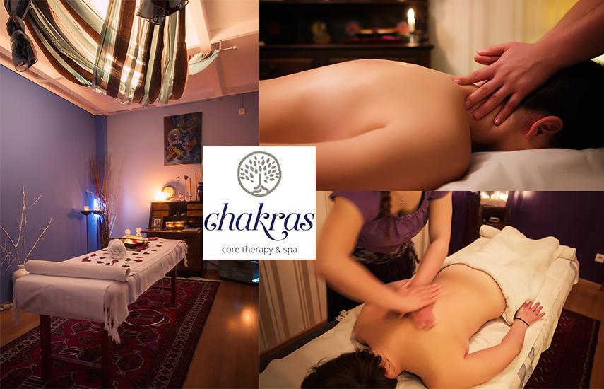 Από 40€ για 4 Διαφορετικά είδη Μασάζ στον Εναλλακτικό χώρο του φημισμένου ''Chakras Core Therapy Spa'' στην Βούλα εικόνα