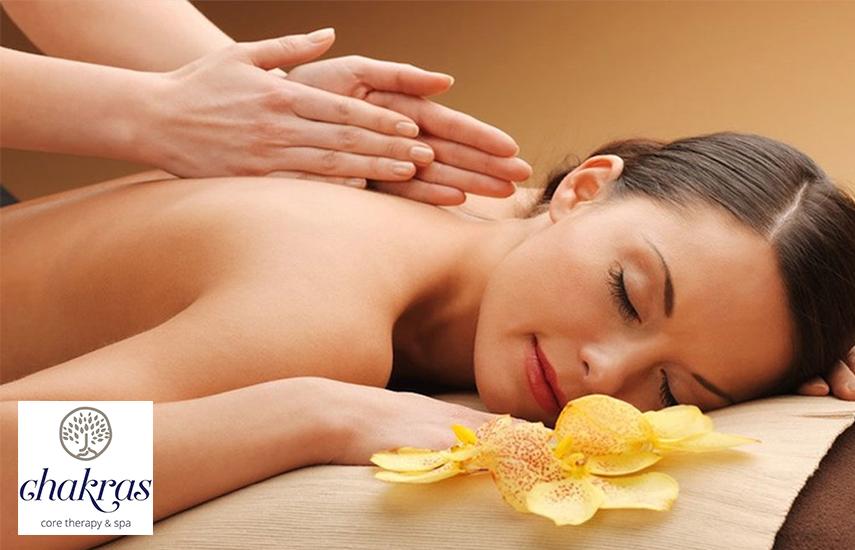 9€ από 40€ για Αntistress Relaxing Massage 20' στον Εναλλακτικό χώρο του φημισμένου ''Chakras Core Therapy Spa'', στην Βούλα εικόνα