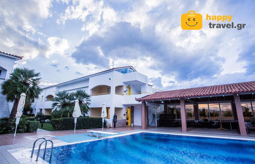 Απόδραση στο Βραχάτι Κορινθίας: Από 110€ για 2ήμερη απόδραση 2 ατόμων, με Hμιδιατροφή, στο ξενοδοχειακό συγκρότημα 5* ''Alkyon Resort Hotel & Spa''