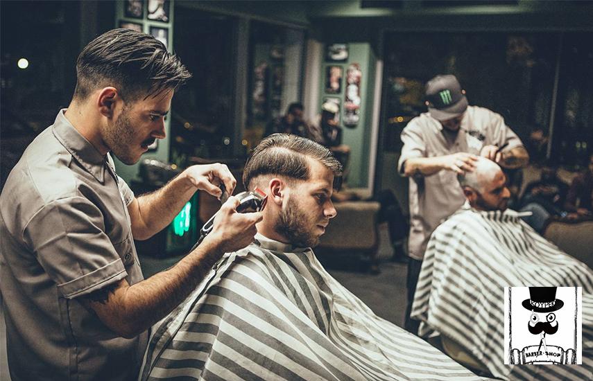 9,9€ από 15€ για Kούρεμα, Λούσιμο & Τριμάρισμα στο Barber Shop