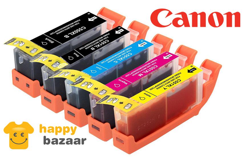 Μελάνια CANON συμβατά με τον εκτυπωτή σας! ... από 1,4€ / Μελάνι (η Καλύτερη τιμή της αγοράς) & με 2 Χρόνια Εγγύηση! Για Ζωντανά και ανθεκτικά χρώματα που μένουν ανεξίτηλα στο χρόνο