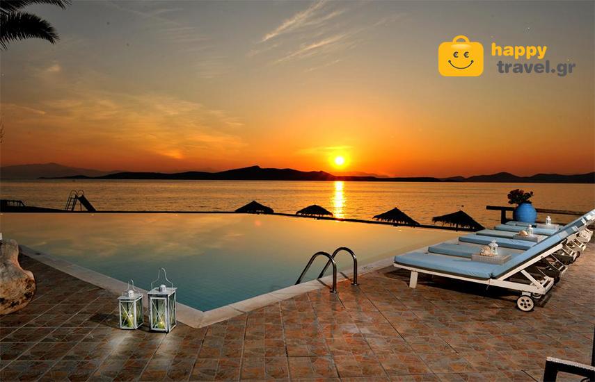 Διακοπές στην ΕΥΒΟΙΑ: Από 239€ για 4ήμερη απόδραση, με Ημιδιατροφή, στο μοναδικό ''Venus Beach Hotel'', στα Στύρα