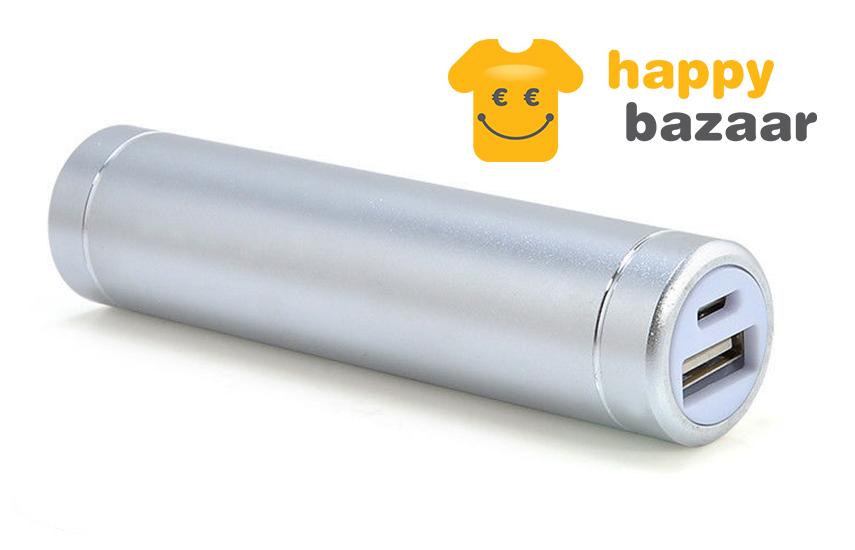 3,9€ από 15€ για μίνιμαλ διακριτικό Φορητό Power Bank, χωρητικότητας 2600mAh, σε σχήμα τσιγάρου, με χρήση επαναφορτιζόμενης Μπαταρίας 18650 & 1 θύρα USB