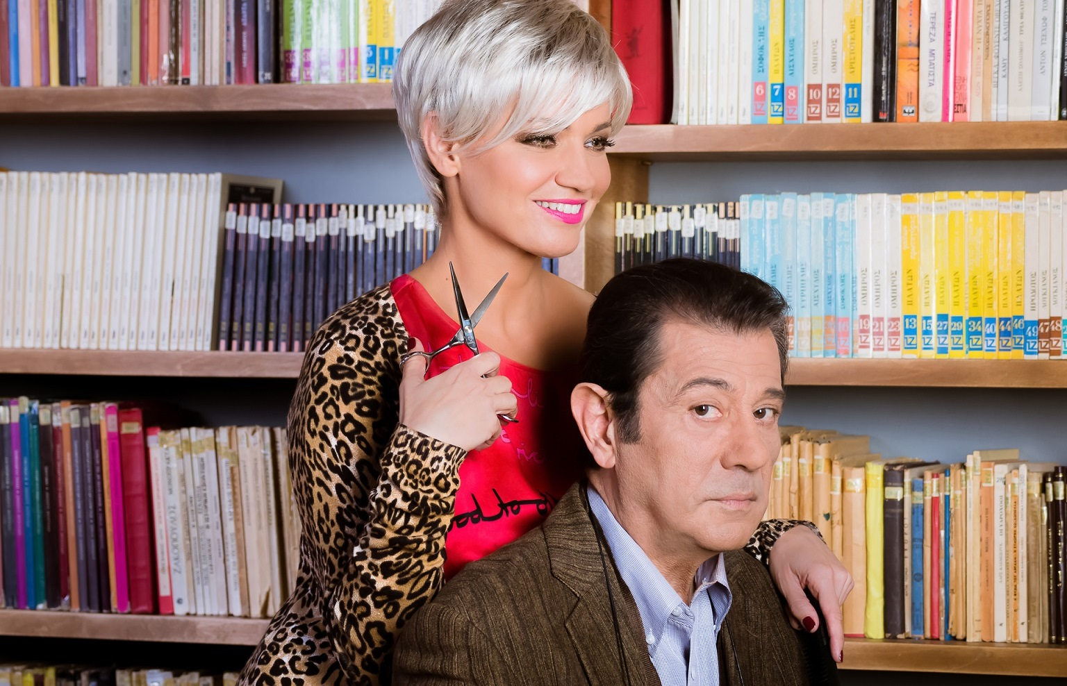 12€ από 18€ στην βραβευμένη ερωτική κωμωδία ''Εκπαιδεύοντας την Ρίτα'' με τον Δάνη Κατρανίδη και την Παναγιώτα Βλαντή, στο θέατρο ''Πόλη