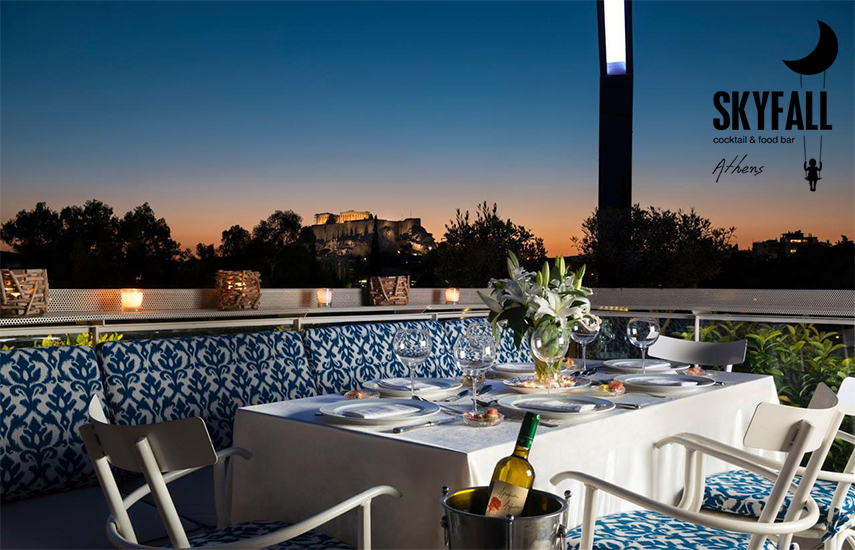 13€ από 20€ για να απολαύσετε 2 υπέροχα cocktails επιλογής σας, στον μοναδικό χώρο του διάσημου ''SKYFALL BAR'' με θέα Ακρόπολη & Λυκαβηττό εικόνα