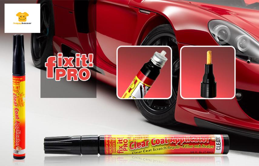 3,9€ από 12€ για Μαρκαδόρο - Επιδιορθωτή Γρατζουνιών ''Fix it Pro'', κατάλληλο για όλα τα Αυτοκίνητα & για όλα τα χρώματα