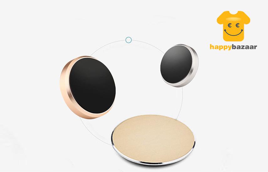 4,9€ από 25€ για πανίσχυρη όμορφη Μαγνητική Βάση στήριξης Κινητού Αυτοκινήτου από αλουμίνιο, κατάλληλη για όλα τα κινητά