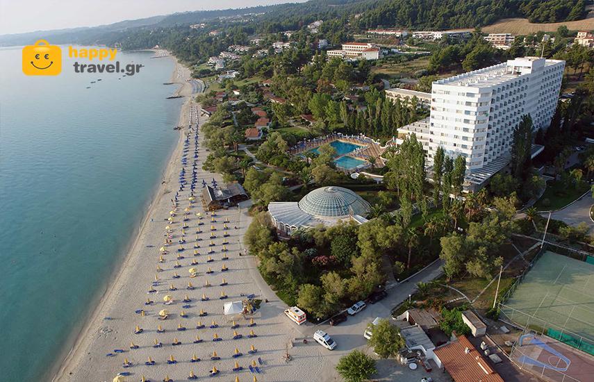 Διακοπες στην ΧΑΛΚΙΔΙΚΗ: Απο 346€ για 5ημερη αποδραση με Ημιδιατροφη, στο πολυτελες 4* »Pallini Beach Hotel» στην παραλια της Καλλιθεας