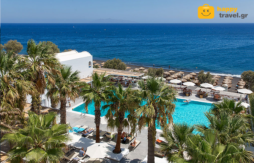Διακοπες στην ΣΑΝΤΟΡΙΝΗ: Απο 279€ για 4ημερη αποδραση με Πρωινο, στο μαγευτικο »Kamari Beach Hotel», στο Καμαρι