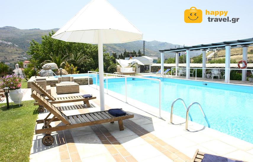 Διακοπές στην ΑΝΔΡΟ: Από 154€ για 4ήμερη απόδραση, με Πρωινό, στο πανέμορφο ''Paradise Art Hotel'', στη Χώρα εικόνα