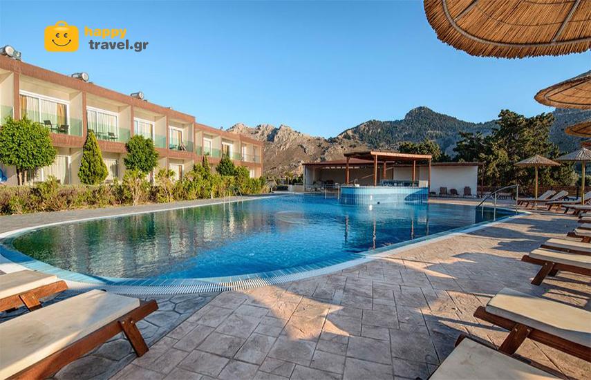 Διακοπές στη ΡΟΔΟ: Από 379€ για 5ήμερη απόδραση, ALL INCLUSIVE, στο υπέροχο ''Αnavadia Hotel'' εικόνα