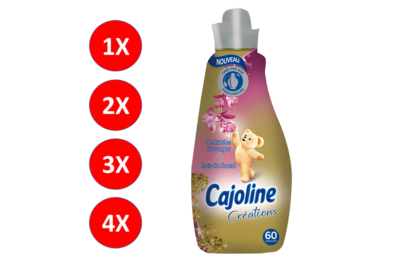 CAJOLINE Μαλακτικό Ρούχων Gold 1,5lt: Από 3,7€ (50% έκπτωση) για για 1-2-3-4 συσκευασίες, η καλύτερη τιμή της αγοράς!