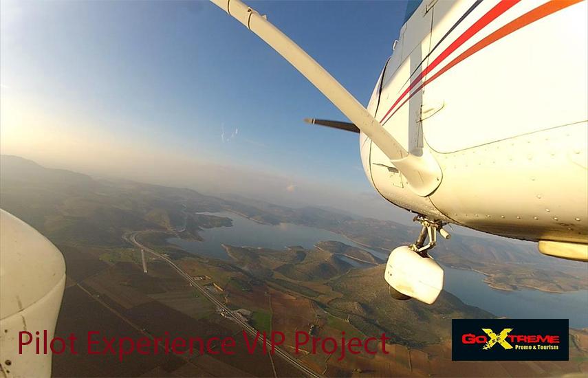 Από 189€ για Πτήση Αεροσκάφους ''Pilot Experience Vip Project'' από το ιδιωτικό αεροδρόμιο της Θήβας με Σνακ, Video, Φωτογραφίες & Aναμνηστικό Δίπλωμα, από το ''Go Extreme Promo & Tourism''