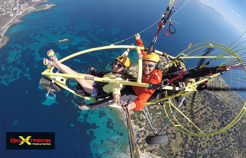 Από 169€ για Πτήση Paratrike με Μεταφορές, Video, Φωτογραφίες & Kορνίζα με αναμνηστικό δίπλωμα, σε Ανάβυσσο ή Σούνιο, από το ''Go Extreme Promo & Tourism''. Πετάξτε πάνω από τα ωραιότερα μέρη της Αθήνας και βιώστε την συγκλονιστικότερη εμπειρία της ζωής σας