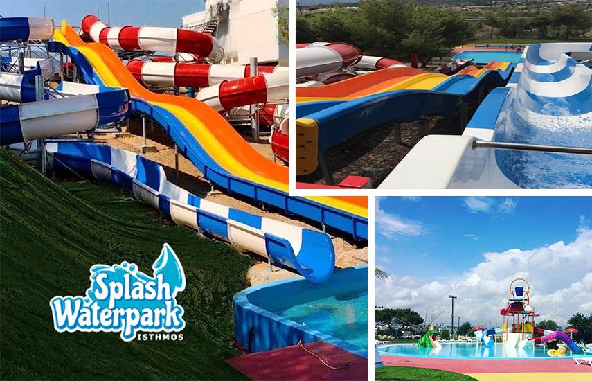 6€ από 12€ για Eίσοδο με Ομπρέλα, Ξαπλώστρα & Απεριόριστη χρήση όλων των εγκαταστάσεων, στο υπερσύγχρονο & πλήρως ανακαινισμένο ''Splash Water Park'', το μεγαλύτερο Πάρκο Νερού της χώρας στον Ισθμό, μια ανάσα απ'την Αθήνα!