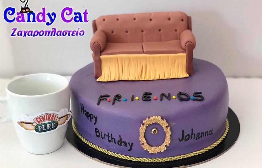 Από 52€ για ολόφρεσκη Τούρτα με Ζαχαρόπαστα 3,5-5kgr, σε σχέδιο και γεύση επιλογής σας, στο ''Candy Cat'' στο Αιγάλεω
