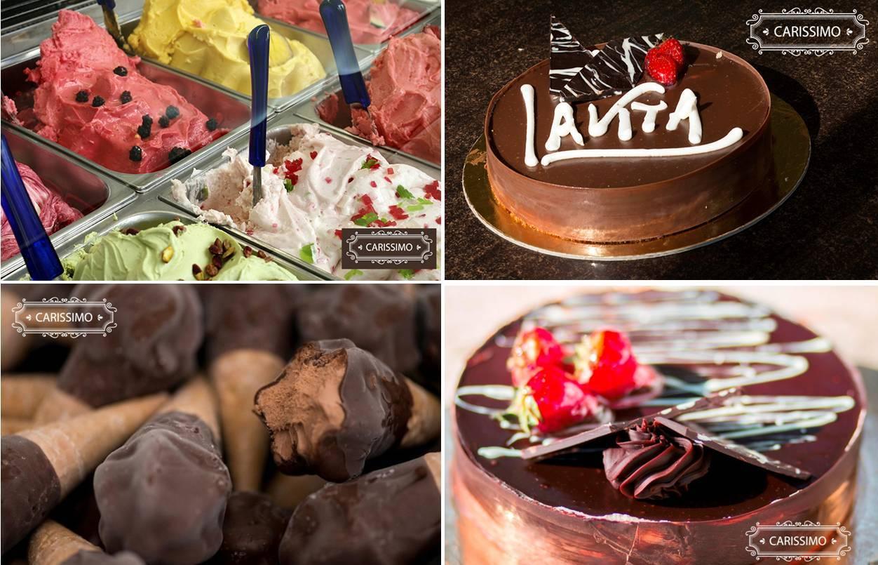 7,9€ από 14€ για 1kg Παγωτό Χύμα ή 1kg Σπιτικά Παγωτίνια ή Οικογενειακή Τούρτα Παγωτό, στο εργαστήριο ζαχαροπλαστικής ''Carissimo'' στον Περισσό εικόνα