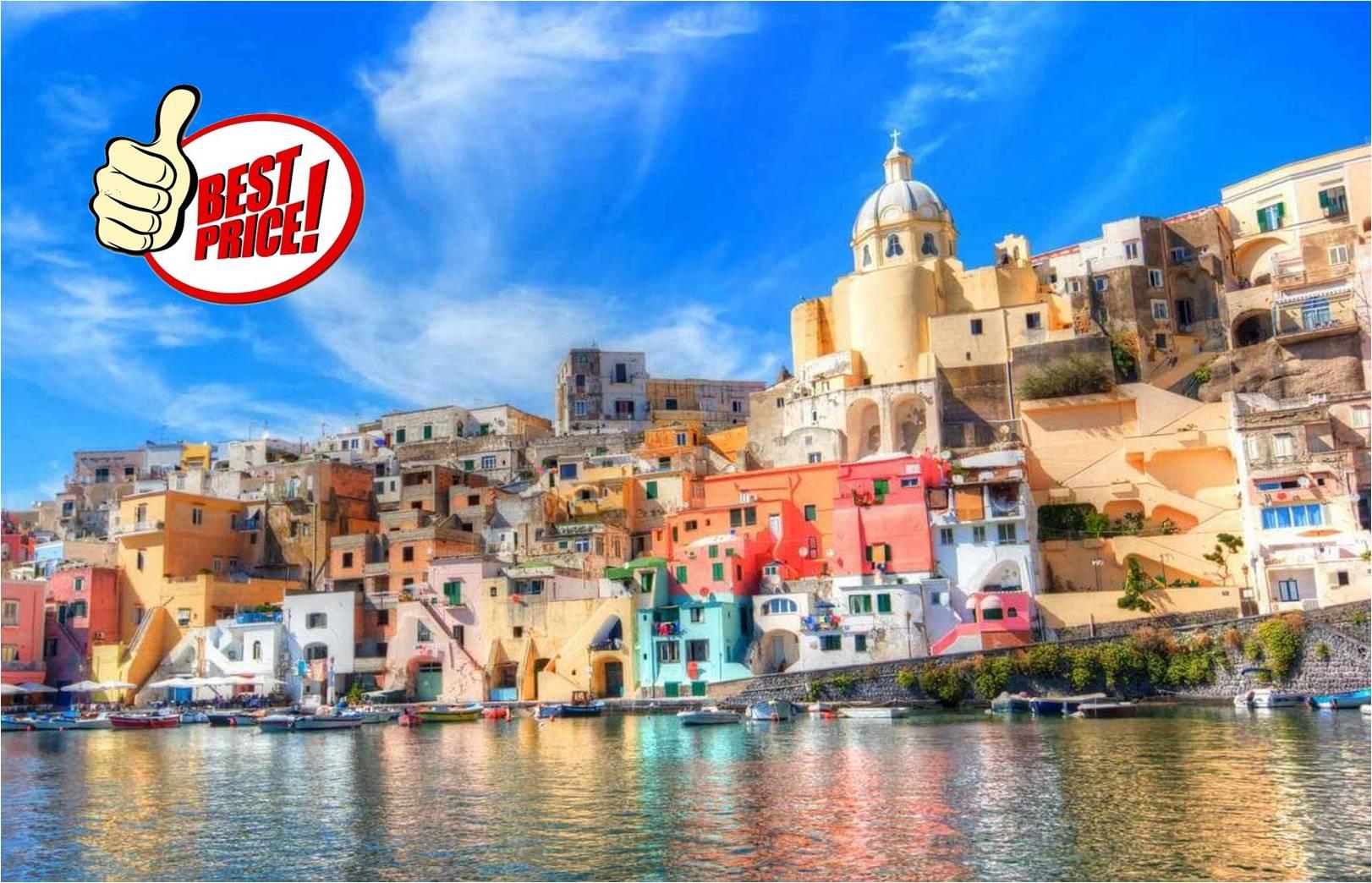 ΝΑΠΟΛΙ 07-10 NOEMΒΡΙΟΥ στην καλυτερη τιμη της αγορας! Απο 179€ με Αεροπορικα, Κεντρικο Ξενοδοχειο, Πρωινο & Φορους Πληρωμενους