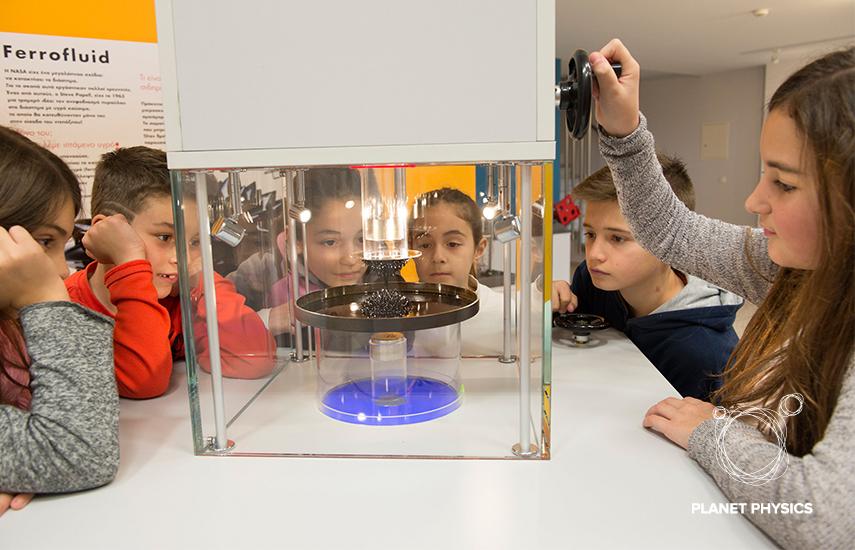 7€ από 14€ για είσοδο 2 ατόμων (ενήλικα & παιδιού) με Χυμο, Ξενάγηση, Χρήση Παιδότοπου & Δημιουργική απασχόληση, στο ''Planet Physics'' στα Βριλήσσια! Μια μοναδική εμπειρία στο μοναδικό θεματικό Μουσείο Φυσικής της Αθήνας