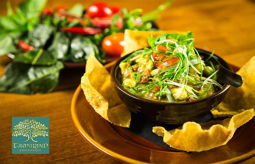 19€ από 40€ για πλήρες menu 2 ατόμων, ελεύθερη επιλογή, στο περίφημο και πολυδιαφημισμένο Ταϊλανδέζικο εστιατόριο ''Tamarind - Thai Kitchen'' στο Μεταξουργείο εικόνα
