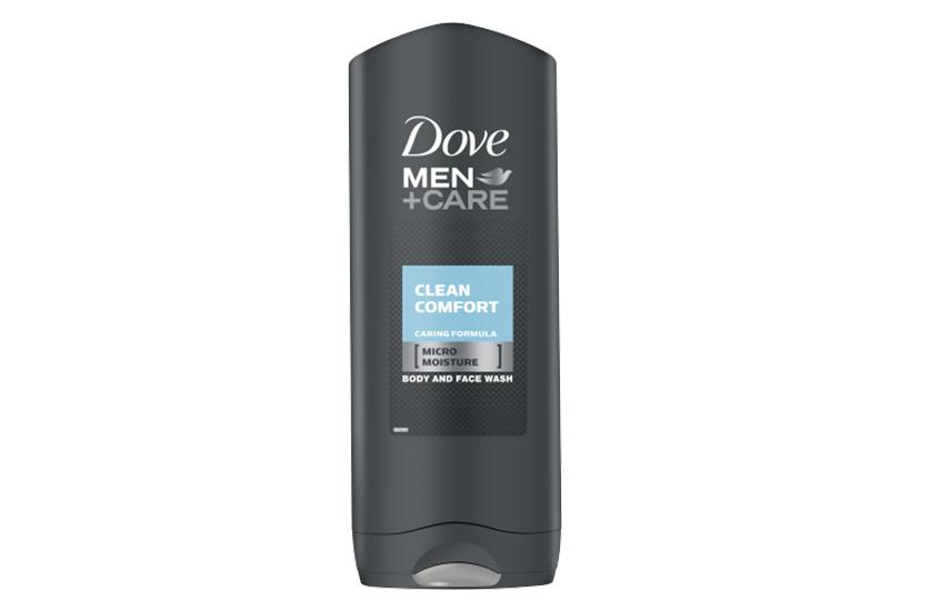 DOVE Αφρόλουτρο Men+Care Clean Comfort 400ml, ΜΟΝΟ με 3,2€ από 6,4€! Για δέρμα υγιές και δυνατό, η καλύτερη τιμή της αγοράς!