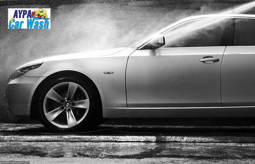Από 79€ για Eπαγγελματικό Γυάλισμα, Κέρωμα & Ξεθάμπωμα Θολών Φαναριών Αυτοκινήτου, από το ''Αύρα Car Wash''