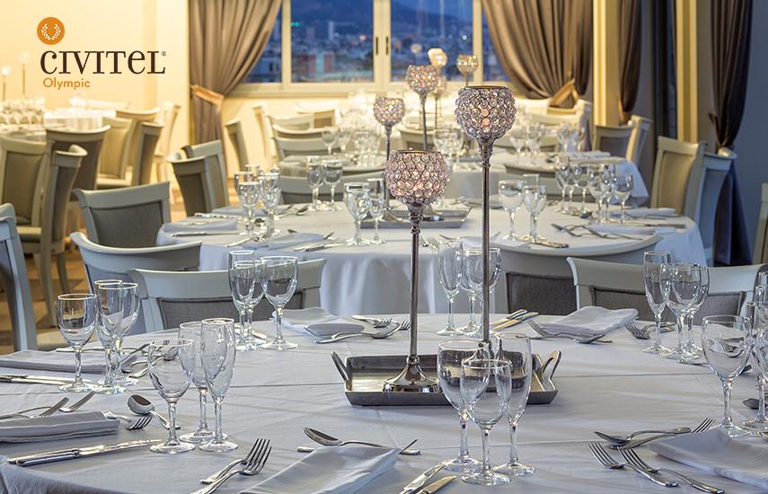 Από 24€ για Ρεβεγιόν Χριστουγέννων ή Πρωτοχρονιάς ή New Year's Brunch, στο ονειρεμένο και υπερπολυτελές ''Civitel Olympic Hotel'' στο Μαρούσι