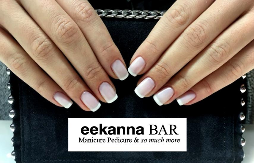 18€ από 36€ για Ημιμόνιμο Manicure μαζί με Απλό Pedicure, στον χαλαρωτικό χώρο του ''Eekanna Bar'' στην Κηφισιά