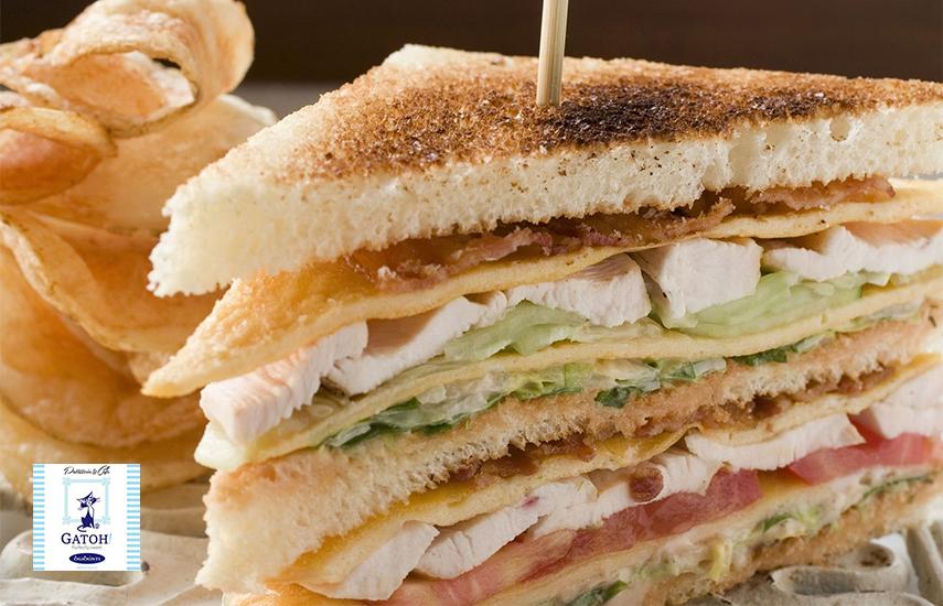 9€ από 14€ για Λαχταριστό Club Sandwitch 2 ατόμων & Αναψυκτικό για Dine-in ή Take away, στο ''Gatoh Patisserie'' στην Αργυρούπολη εικόνα