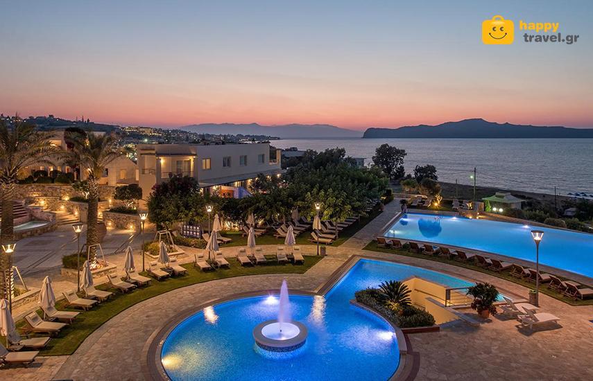 Διακοπές στα ΧΑΝΙΑ: Από 211€ για 4ήμερη απόδραση, με Ημιδιατροφή, στο ονειρεμένο Cretan Dream Royal Hotel 5* στο Σταλό Χανίων